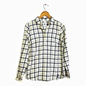 Souther proper long sleeve plaid shirt size small